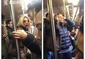 纽约地铁内白人女子辱骂殴打亚裔女子 引发众怒