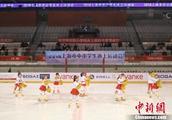 """上海数百名中小学生参加""""冰上运动会"""""""