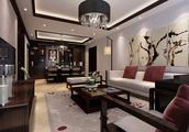 90后小夫妻花18万元装修的中式风格,81.73平米二居室太赞了!-重庆融创万达文化旅游城装修