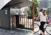 日本逆天停车场,7米竟能停放204辆自行车
