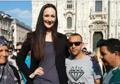 世界最高超模,腿长1米4,至今无人敢娶