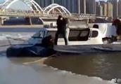 不顾禁令,男子骑车过江落水身亡!气温回升,切勿江上行走!