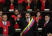 委内瑞拉总统马杜罗宣誓就职