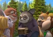 熊熊乐园:大家找到宝藏啦,浣熊奶奶看到了自己小时候的样子!