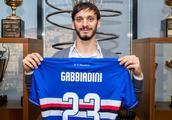 官方:南安普顿前锋加比亚迪尼转会至意甲桑普多利亚
