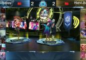 冬冠杯QG用韩信兰陵王 全程不打团 却把Hero锤了40分钟
