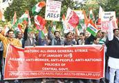 200000000人上街游行抗议!印度爆发史上最大规模罢工