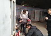 甘州区新墩镇开展仓储物流场所安全隐患排查整治行动
