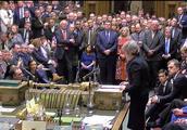"""差230票!英国下院否决""""脱欧""""协议"""