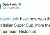 战胜米兰,尤文意超杯夺冠次数超越对手,意甲第一