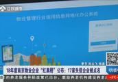 """18年度南京物业企业""""红黑榜""""公布,看看哪些失信企业被点名了"""