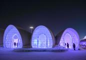 哈尔滨冰雪大世界梦幻冰屋 满目晶莹