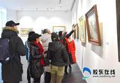 2019烟台油画学会迎春作品展在美术博物馆开幕