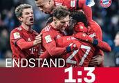 德甲-格雷茨卡两球莱万建功 拜仁3-1霍芬海姆联赛六连胜