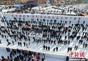 沈阳大辽文化冬捕节开幕 双头鱼拍出78.8万元高价