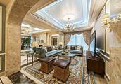 新房760平米六居室以上法式风格,装修只用了300万,谁看谁说划算!-雷丁TOWN别墅装修