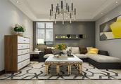 69平米的房子装修只花了6万,现代风格让人眼前一亮!-凌福郡庭装修