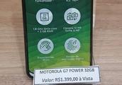 摩托罗拉Moto G7 Power真机图再曝光
