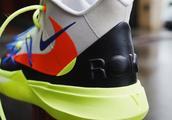 NBA 全明星赛战靴!荧光色系 ROKIT x Kyrie 5 细节曝光