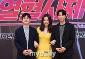 [MD PHOTO] 李哈妮金南佶等艺人出席SBS新剧《热血司祭》发布会