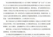 秋林集团发布公告:无法与公司董事长和副董事长取得联系