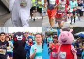 多图|香港渣打马拉松2019 爆笑奇葩选手大集锦