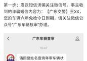 """警惕""""车辆年审""""短信诈骗,钓鱼网站窃取银行卡信息盗刷"""