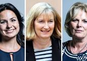 特雷莎·梅遭受又一打击:英国保守党三名女议员宣布脱党