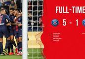 法甲-迪马利亚世界波姆巴佩进球 巴黎圣日耳曼5-1蒙彼利埃