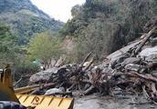 时隔一周台湾中横公路又遇塌方 未造成人员伤亡