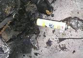 电瓶车凌晨两点自燃,这两口子吓安逸了!