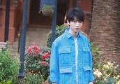 被王俊凯的新造型撩到!蓝色上衣+小白鞋,少年感十足