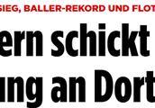 连续3场联赛进球达到5粒,拜仁创造德甲历史