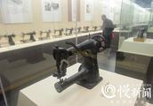"""老重庆   还记得 """"鹅牌""""""""红岩牌""""缝纫机吗?渝北展出百台缝纫机,最老已有150岁"""