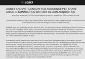 辛普森一家跟米奇成一家人了!迪士尼正式收购21世纪福斯公司