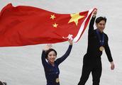 花样滑冰世界锦标赛双人滑比赛 隋文静韩聪夺冠