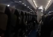 """航班无法降落乘客""""直播""""惊魂一刻 航空公司:返航是明智的!"""