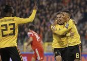 欧预赛:阿扎尔双响蒂莱曼斯破门,比利时3-1俄罗斯