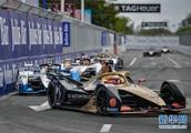 赛车——国际汽联电动方程式锦标赛三亚站举行