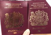 """""""欧盟""""已经从英国护照上消失了…"""