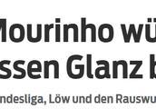 巴拉克:若穆里尼奥执教拜仁,整个德甲会更受关注