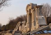 北京圆明园风景,北京旅游必去之地,1860年被英国法国侵略者劫毁