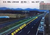 明天下午,长吉高速双向通车!限速80,请注意!