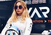 十七岁美女赛车手失控飞出赛道,结局如何