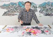 中国书画名家朱德安艺术人生访谈录