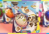 超级飞侠卡文趣变蛋玩具蛋 变形机器人变形小飞机
