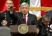墨西哥新总统洛佩斯宣誓就职