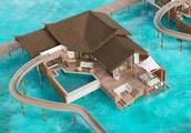 马尔代夫奢华酒店卓美亚推出全新海洋度假别墅 有世界最长水滑梯