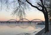 哈尔滨,零下14度的早晨