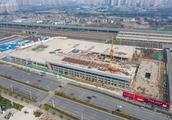 航拍!马鞍山综合客运中心枢纽站竣工在即!两大汽车站将搬迁到…